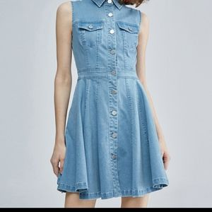 Miss Sixty Denim Dress with laced back